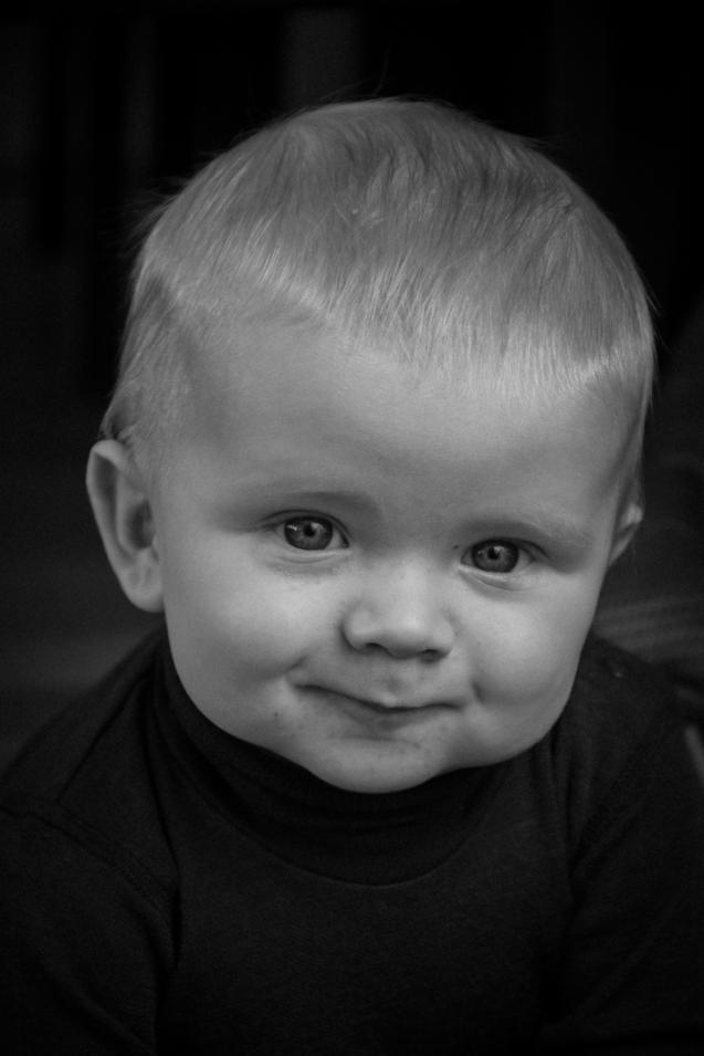 "Title: ""Thinker"". Kristoffer. Baby."